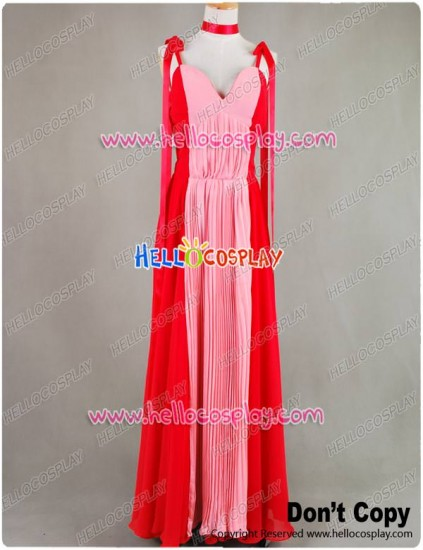 Sailor Moon Sailor Mars Rei Hino Cosplay Costume Gown Dress