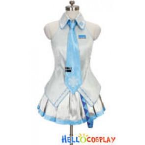 Vocaloid 2 Cosplay Snow Miku Dress