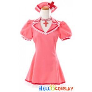 Vocaloid 2 Cosplay Meiko Dress Costume Love Ward Nurse Outfit