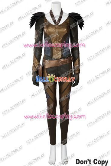 Green Arrow Hawkgirl Cosplay Costume