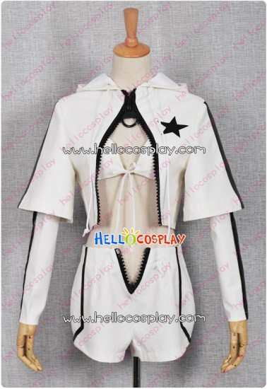 White Rock Shooter Cosplay Costume WRS Costume Short Jacket
