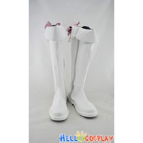 AKB0048 Cosplay Shoes Chieri Sono Boots White