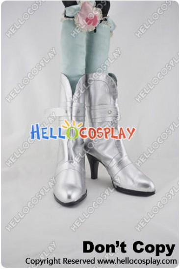 Macross Frontier Cosplay Shoes Sheryl Nome Short Boots