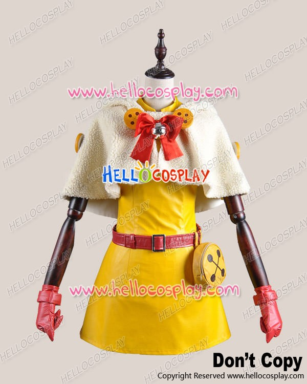 vocaloid 2 cosplay cat cape hatsune miku yellow costume