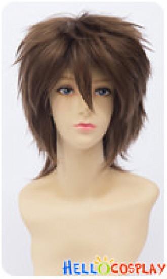 Sekai-ichi Hatsukoi Cosplay Ritsu Onodera Wig 30CM Brown Universal Layered Short