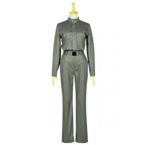 The Hunger Games 3 Mockingjay Katniss Everdeen Cosplay Costume Jumpsuit