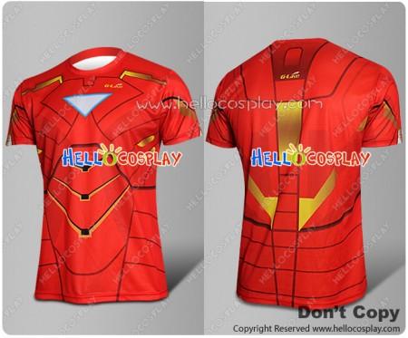 Iron Man Tony Stark Cosplay Costume