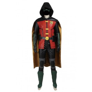 Young Justice Cosplay Robin Timothy Jackson Tim Drake Costume