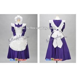 Suzumiya Haruhi Cosplay Mikuru Asahina Maid Dress