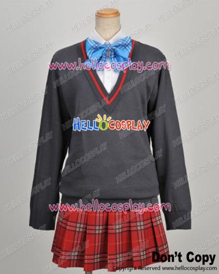 Daitoshokan No Hitsujikai Cosplay Senri Misono Uniform Costume