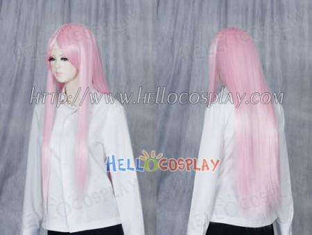 Bright Pink Medium Cosplay Straight Wig