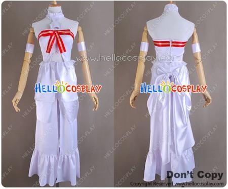 Sword Art Online Cosplay Asuna Dress Costume