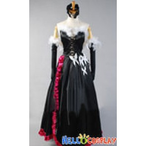 Accel World Cosplay Kuroyukihime Black Lotus Costume