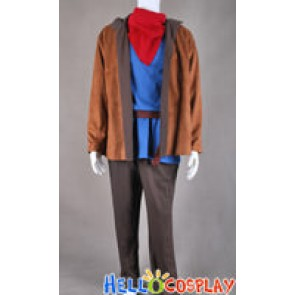 Merlin Cosplay Costume Full Set