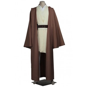 Star Wars Obi Wan Kenobi Cosplay Costume Uniform