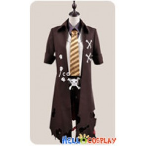 Blue Exorcist Ao No Ekusoshisuto Cosplay Amaimon Brown Costume