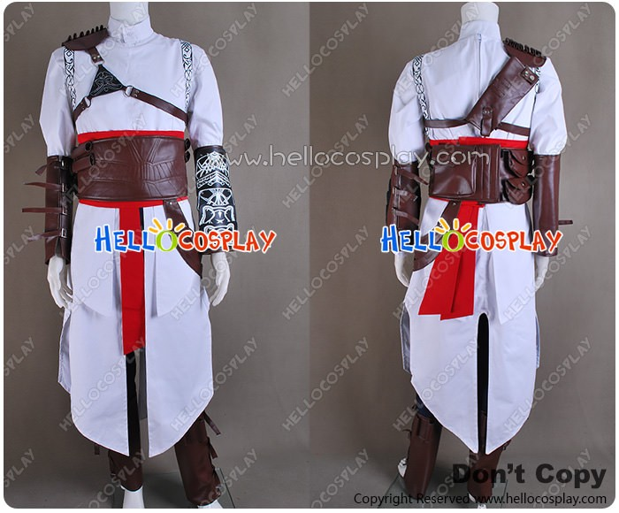 Assassin S Creed Cosplay Altair Ibn La Ahad Costume