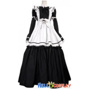 Tailor Made Long Maid Dress