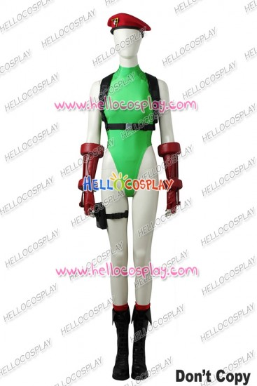Street Fighter V Cammy White Cosplay Costume