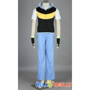 Pokemon Cosplay Ash Ketchum Satoshi Costume