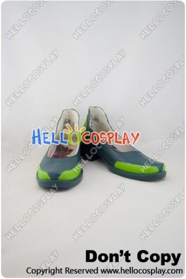 League of Legends Cosplay Yin Green Shoes