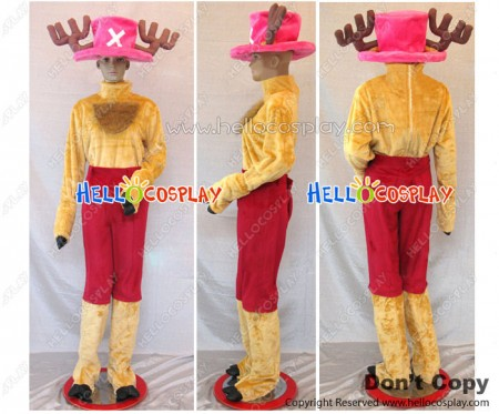 One Piece Cosplay Tony Tony Chopper Two Years Before And Later Costume Pink Hat