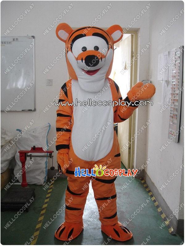 51e333e0a330 Winnie the Pooh Tigger Mascot Costume