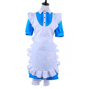 Black Butler Ciel Cosplay Ciel Blue Maid Dress Costume