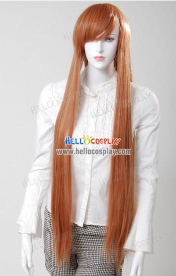 Cosplay Brown Long Wig