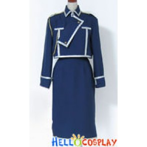 Full Metal Alchemist Cosplay Riza Hawkeye Military Uniform