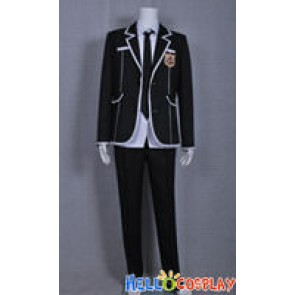 Guilty Crown Cosplay Shu Ouma Costume High School Boy Uniform