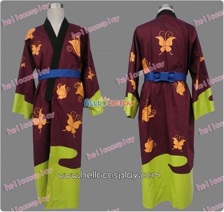 Gintama Cosplay Shinsuke Takasugi Costume