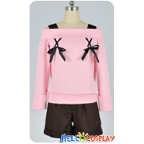 Diabolik Lovers Cosplay Yui Komori Pink Daily Uniform Costume