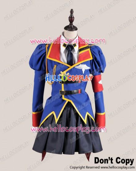 Code Geass Cosplay Leila Malkal Costume Uniform
