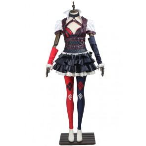 Batman Arkham Knight Harley Quinn Cosplay Costume Uniform