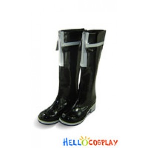 Vocaloid 2 Cosplay Shoes Black Rock Shooter Boots Black
