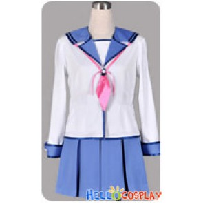 Angel Beats Cosplay School Girl Uniform Costume
