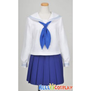 Hanasaku Iroha Cosplay Ohana Matsumae School Girl Uniform