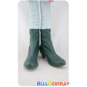Vocaloid 2 Cosplay Shoes Megpoid Gumi Green Shoes