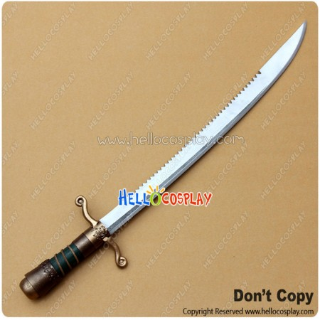 Assassin's Creed III 3 Cosplay Connor Serrated Sword Weapon