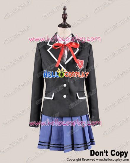 Date A Live Cosplay Origami Tobiichi School Girl Uniform Costume