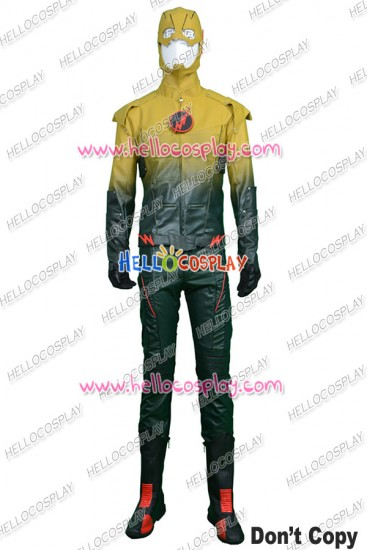 The Flah Reverse Flash Cosplay Costume