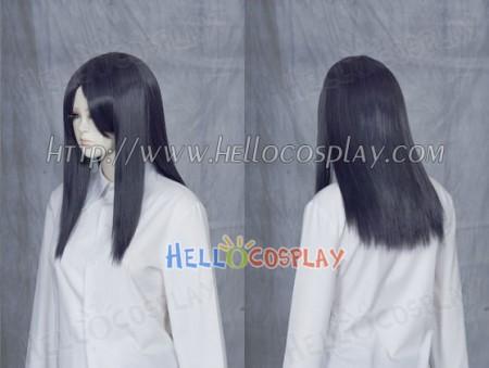Darkest Purple 50cm Cosplay Straight Wig