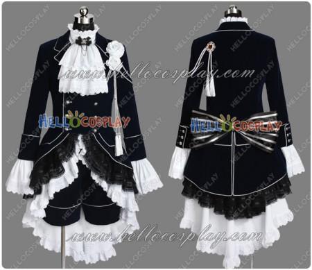 Black Butler Cosplay Ciel Phantomhive Dark Blue Costume