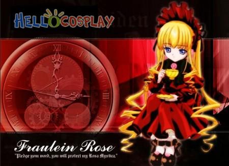 Rozen Maiden Reiner Rubin Cosplay Costume