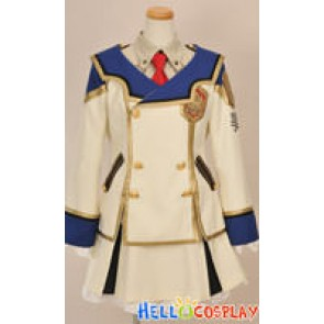Chrome Shelled Regios Military Arts Girl Cosplay Uniform