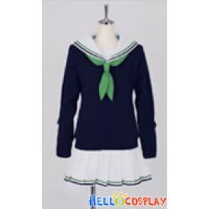 Kuroko's Basketball Cosplay Seirin High School Girl Uniform