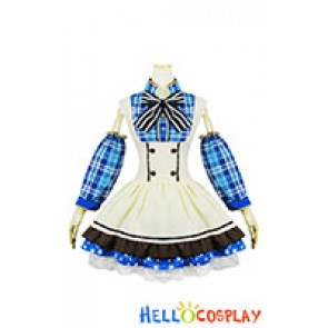 Love Live Cosplay Umi Sonoda Maid Dress
