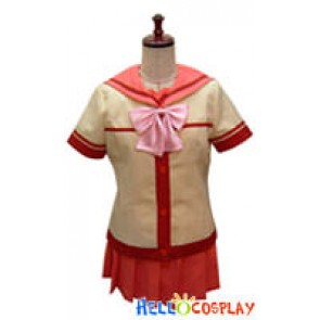 Best Student Council Cosplay Middle School Girl Summer Uniform
