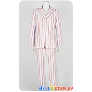 The Beatles Ringo Starr Cosplay Costume Stripes Suit